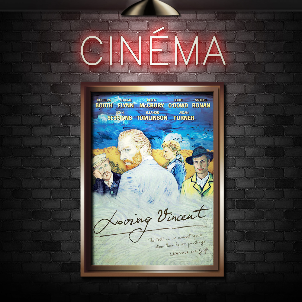 LOVING VINCENT - Directed by Dorota Kobiela, Hugh WelchmanStarring Douglas Booth, Saoirse Ronan, Aidan Turner, Robert Gulaczyk
