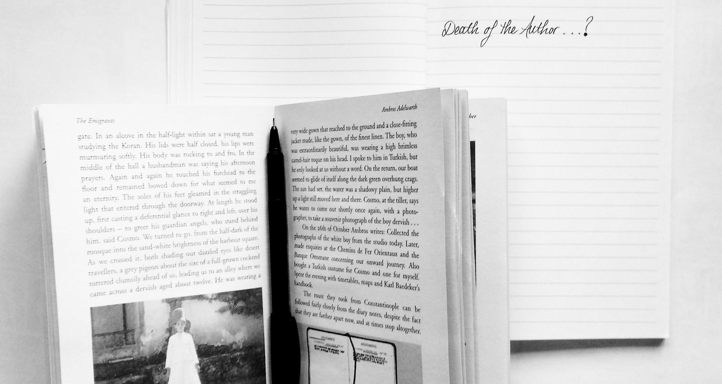 PART 6 - W.G. SEBALD'S USE OF PHOTOGRAPHS