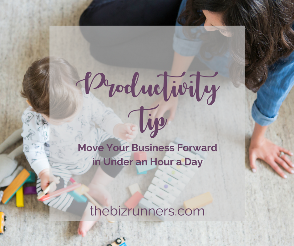 power hour, productivity, productivity tip, small business owner, online business owner