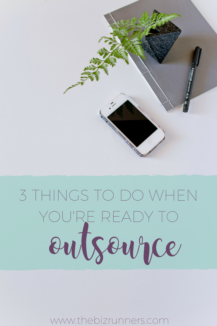Steps to Outsource