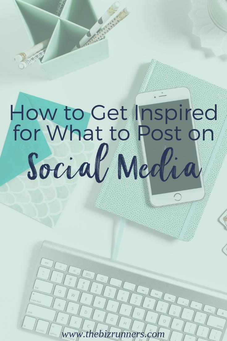 social media, plan content, social content