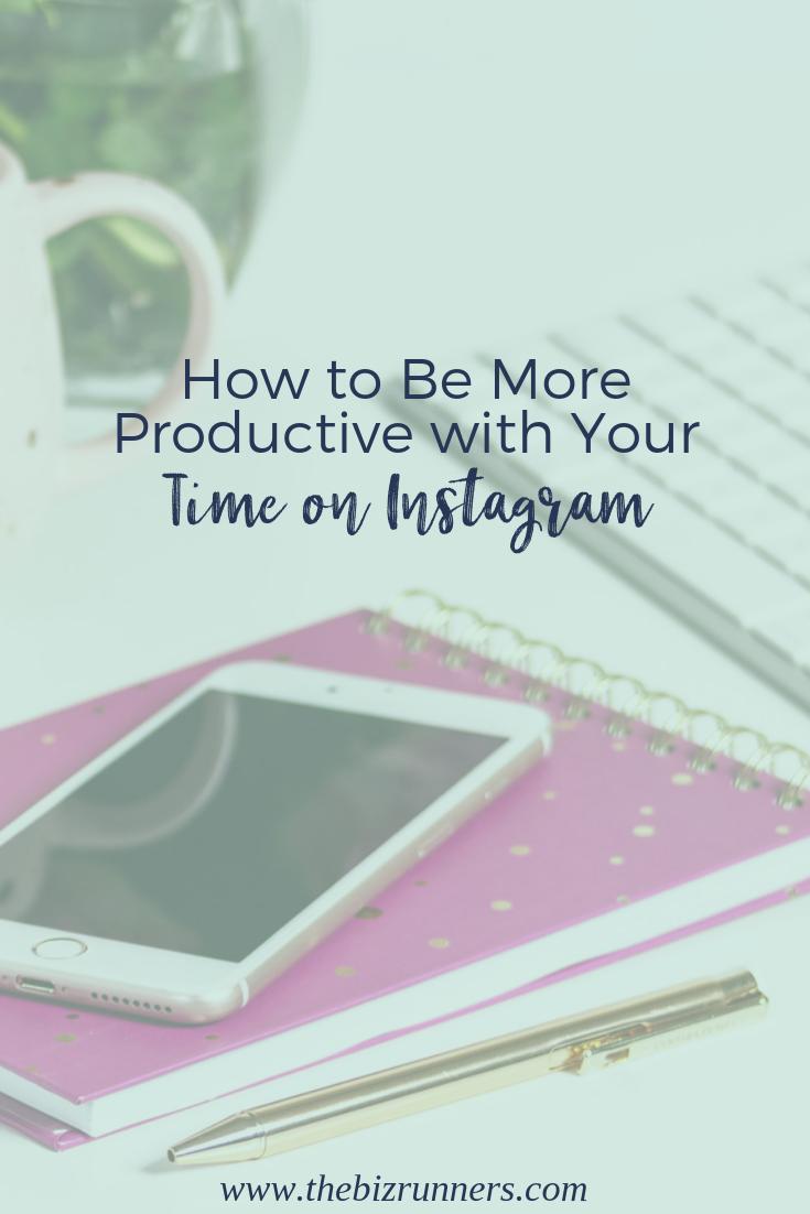 instagram, productivity, time management