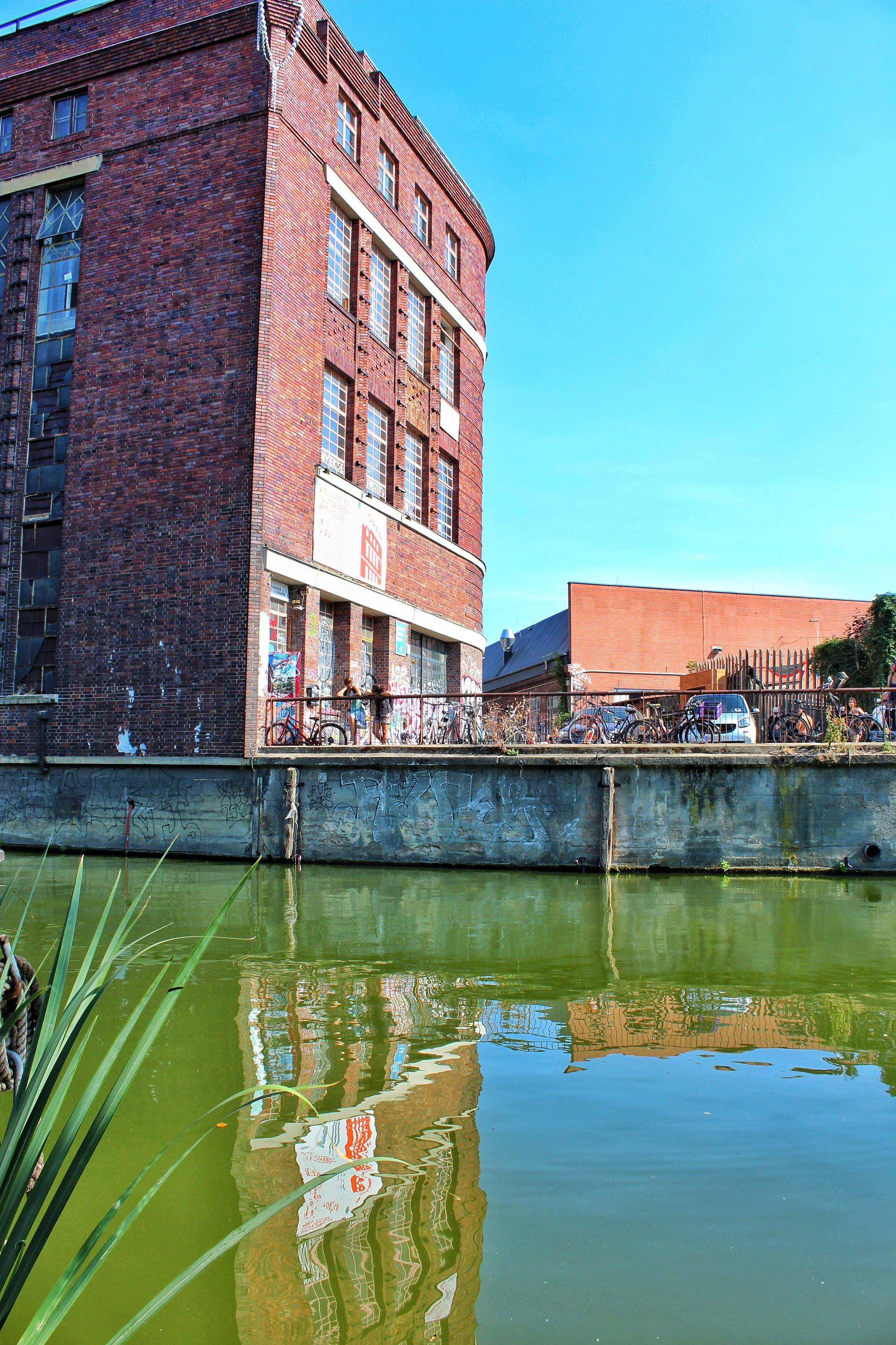 View from Freischwimmer Restaurant
