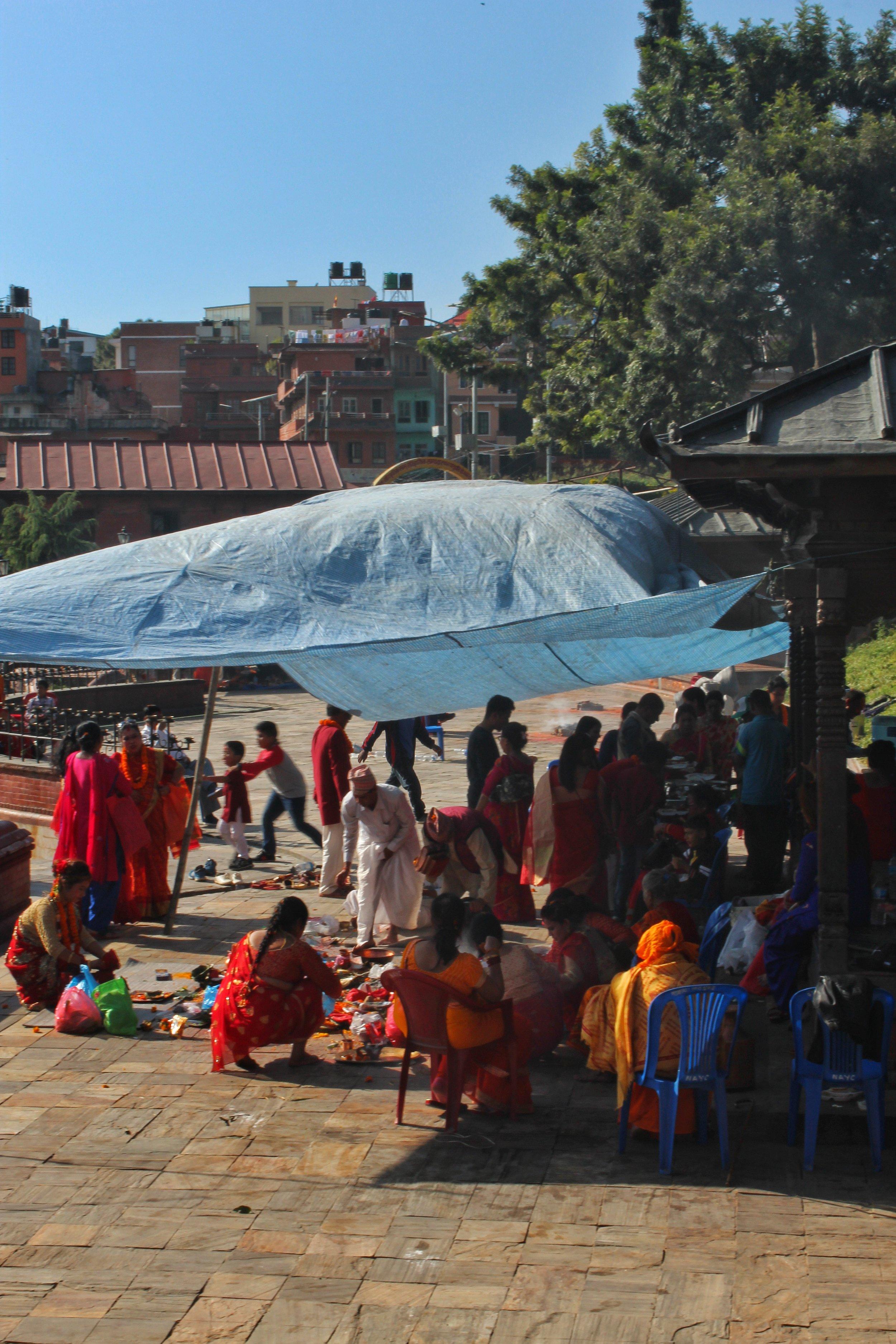 Dashain rituals
