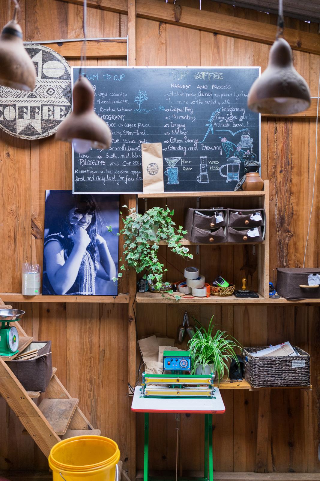 K'Ho Coffee Interior