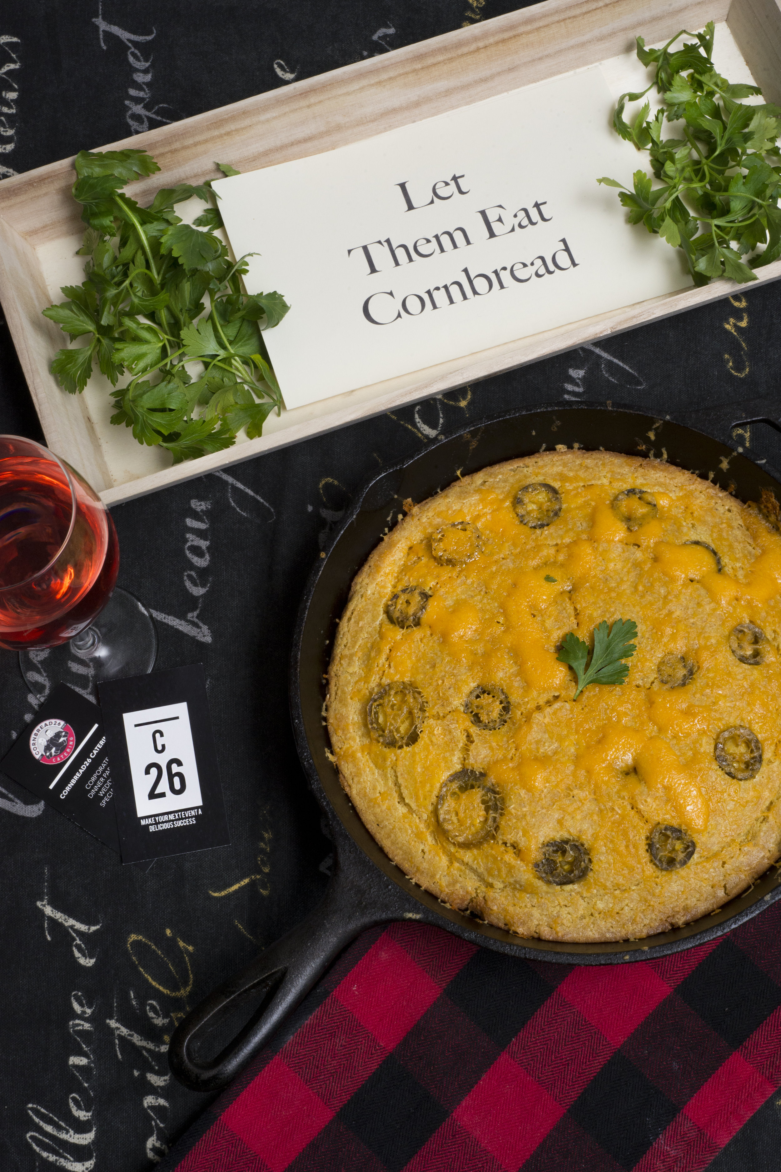 CHEESEY JALAPENO CORNBREAD SKILLET