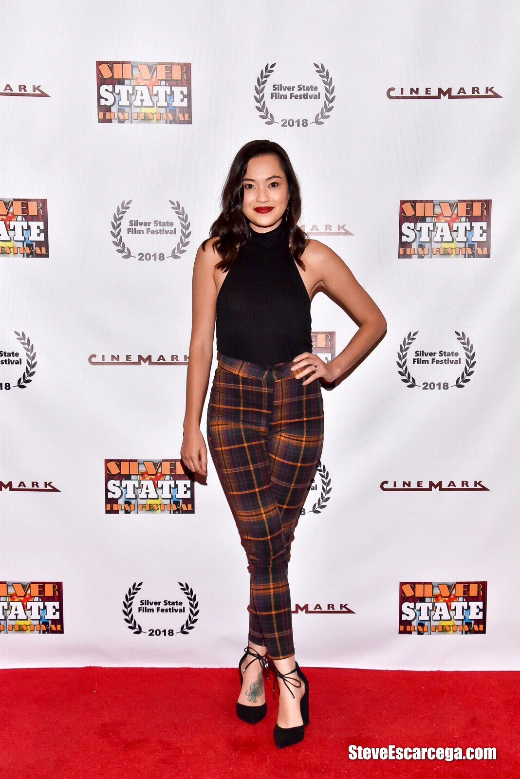 "Trisha Molina at the Silver State Film Festival screening of ""The Spirit Room""; September 9, 2018 Las Vegas, NV"