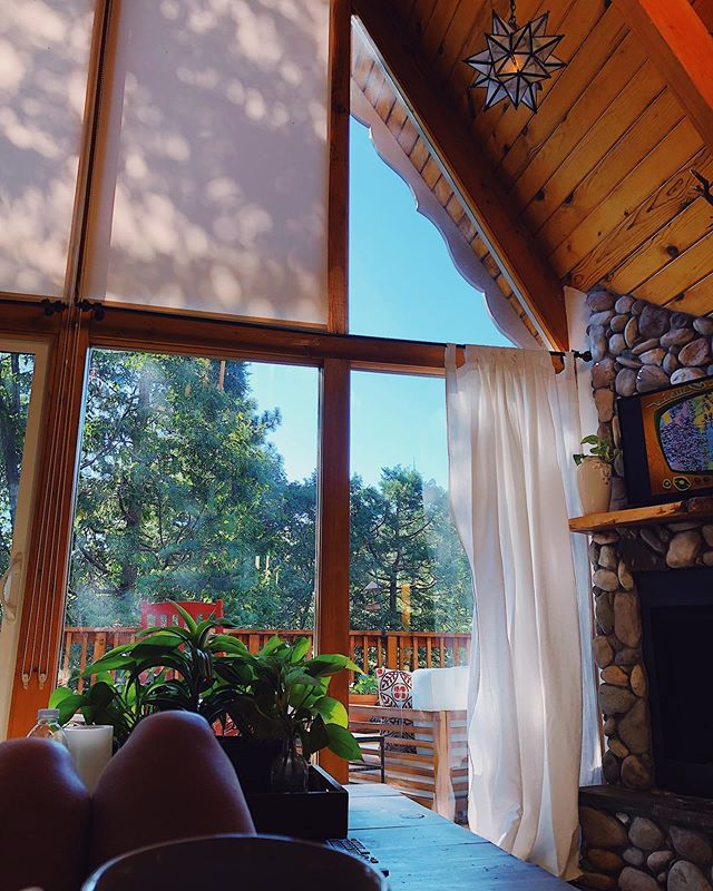 Vacay day 3. Have I mentioned how much I LOOOOOVVVEEE this little tree house? 😍 #vacationmode