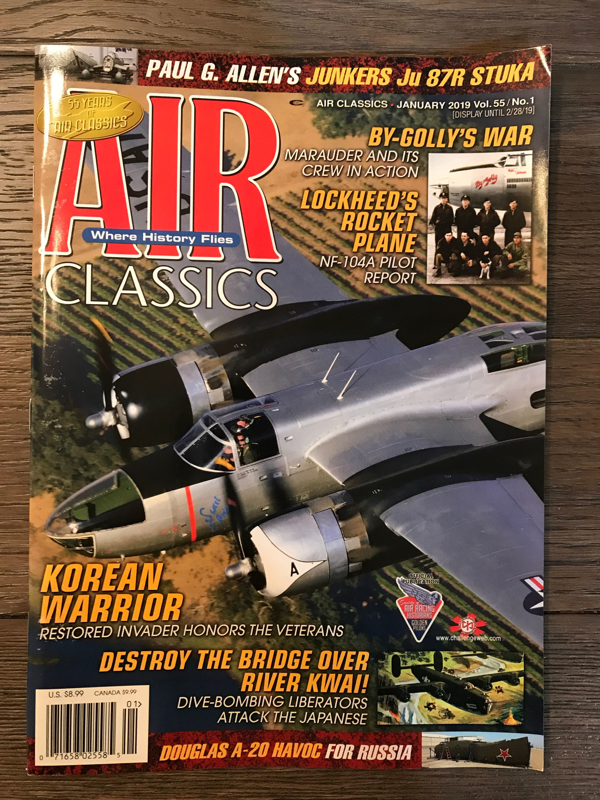 Air Classics January 2019 - Cover