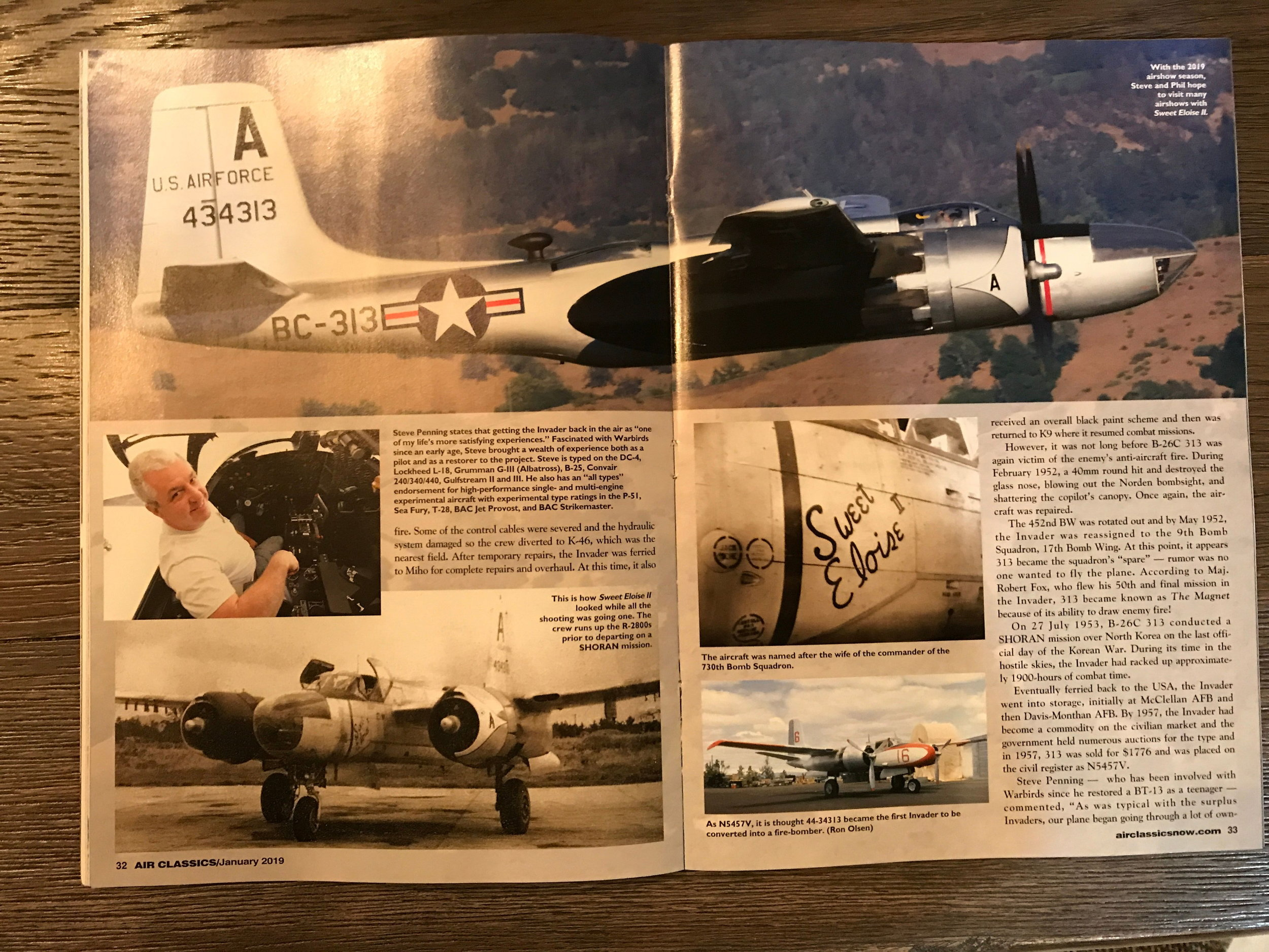 Air Classics January 2019 - Pages 32 and 33