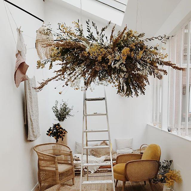 Flowers baskstage 🌻🔨 #louyetu #filledavril