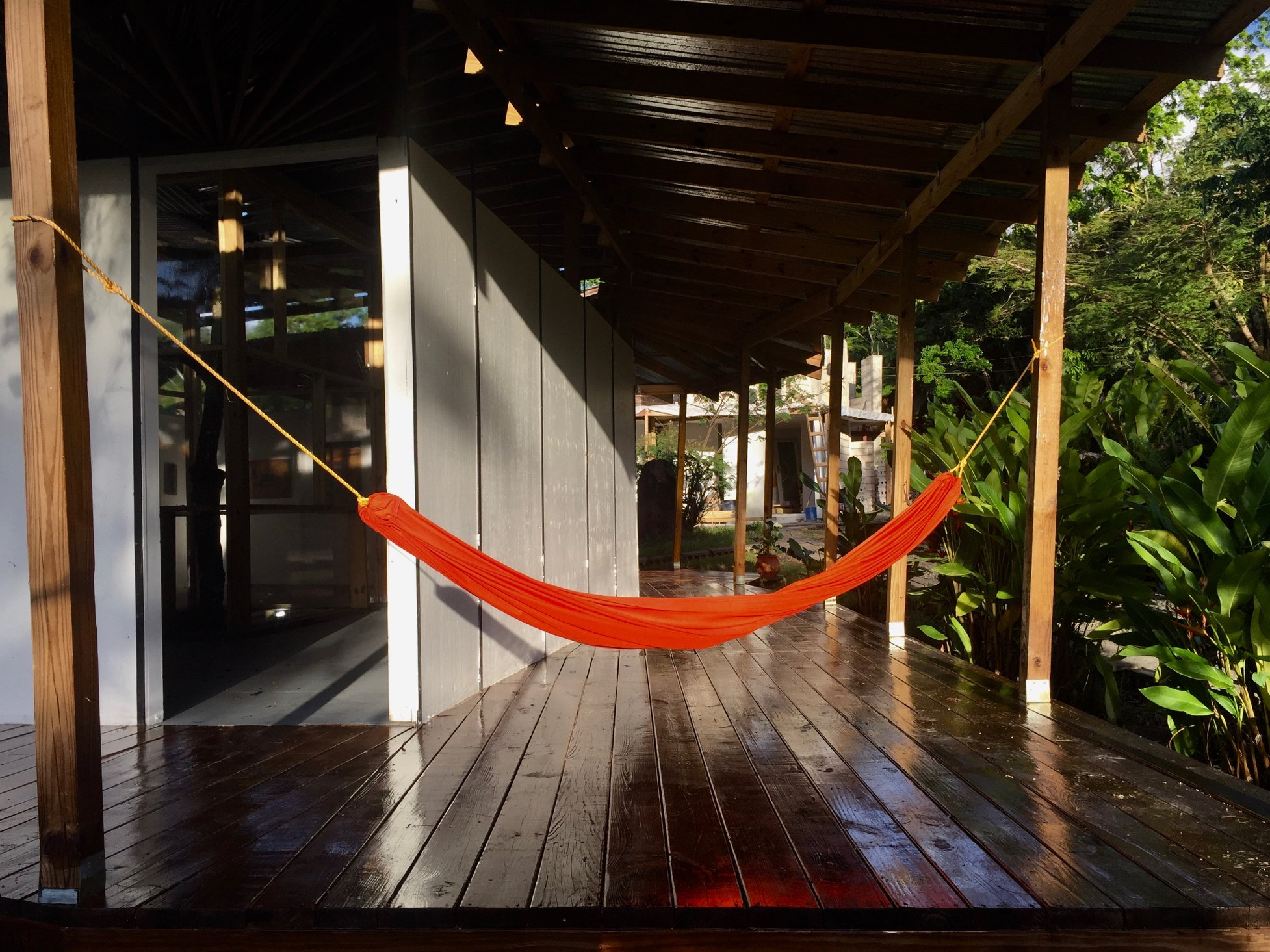 Papo Colo_Pangea Art Republic_Artist Studio in the Rainforest_hammock.jpg