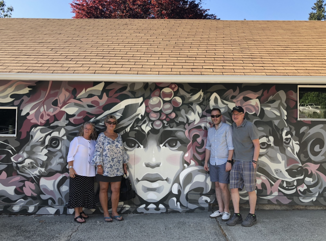 More about the mural and the Artist Series soon.