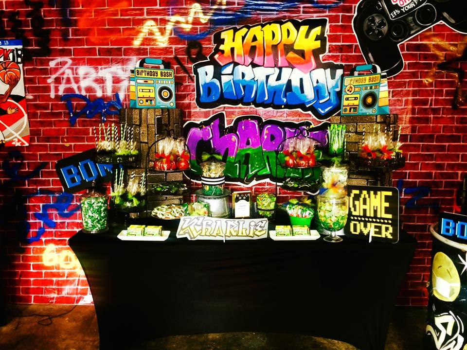 Video Arcade 13th Birthday Party
