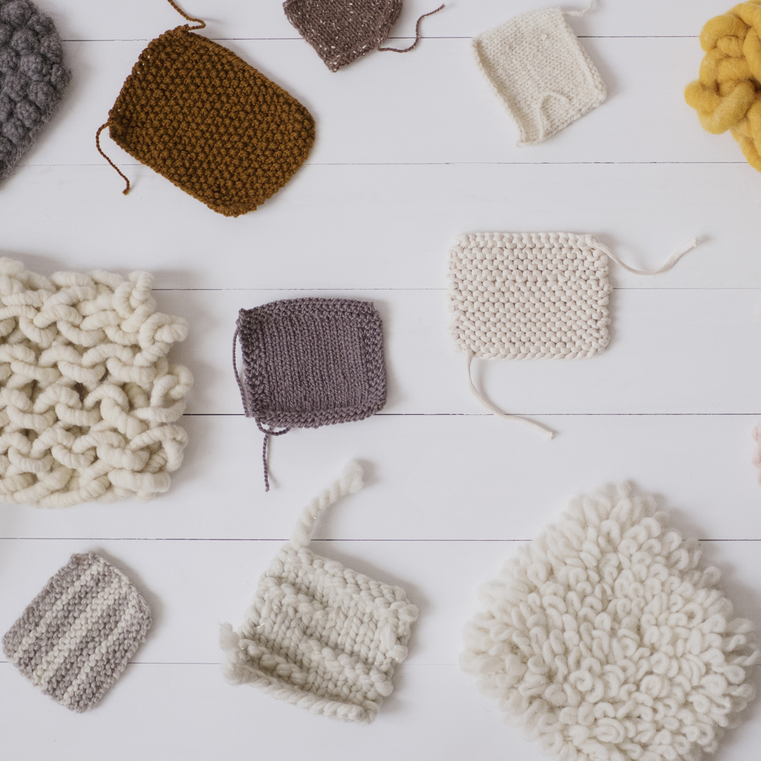 Knit Swatches