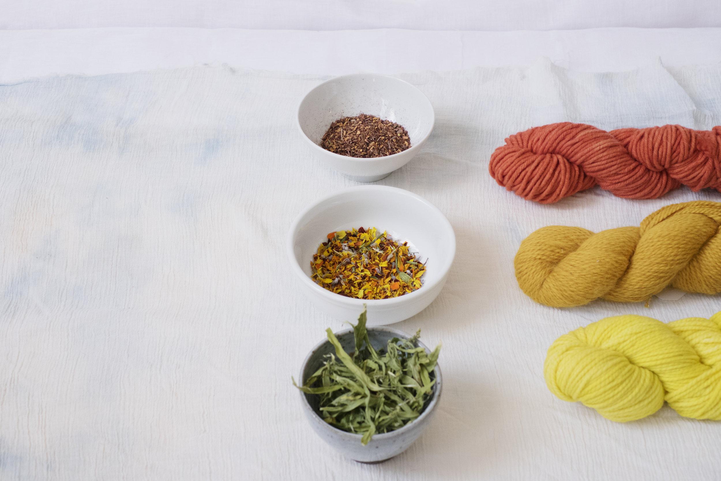 botanical dyes