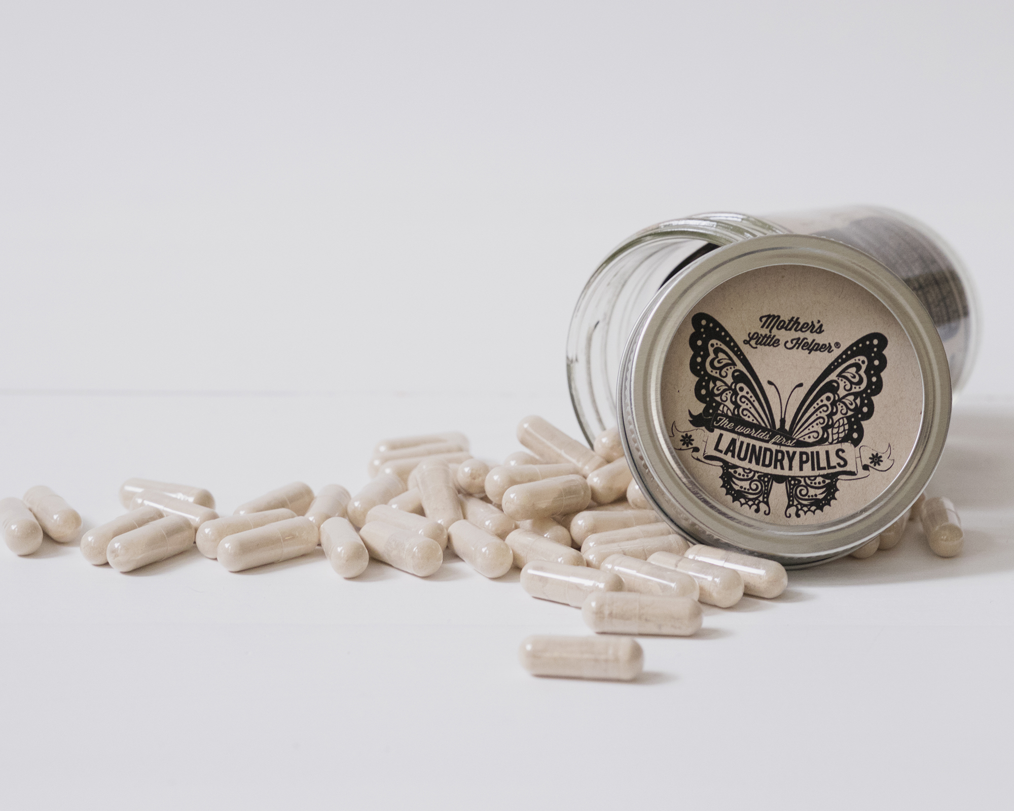 """Mother's Little Helper"" - These  laundry pills  make cleaning your laundry naturally a no-brainer."