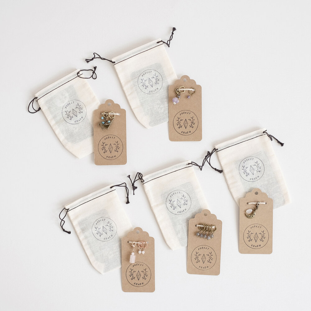 Sewing Markers  Journal tags  Charms