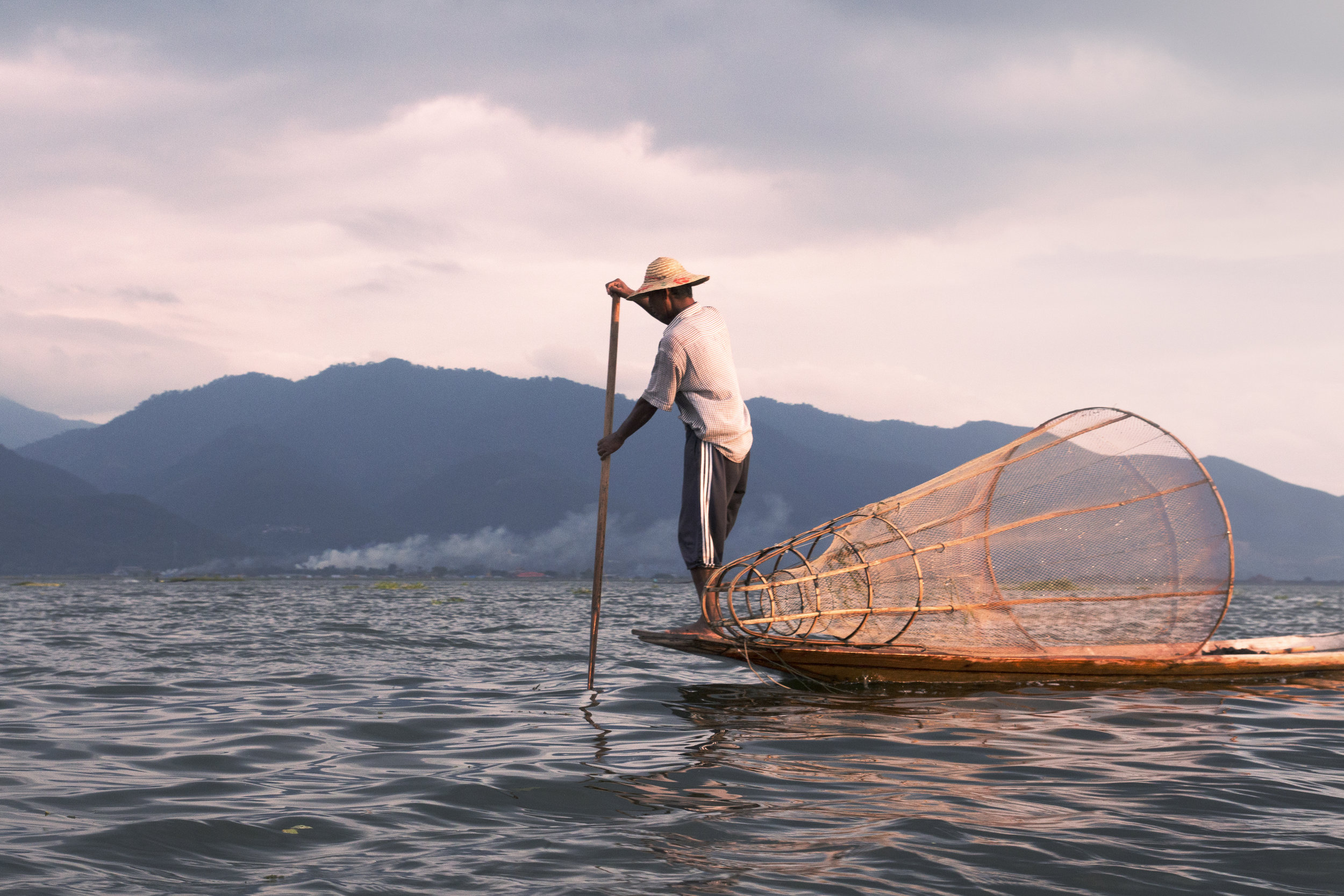 Fisherman at Sea. Public-Private Partnerships can help facilitate the creation of ports to help fishermen sell and export their seafood at the local and international markets.