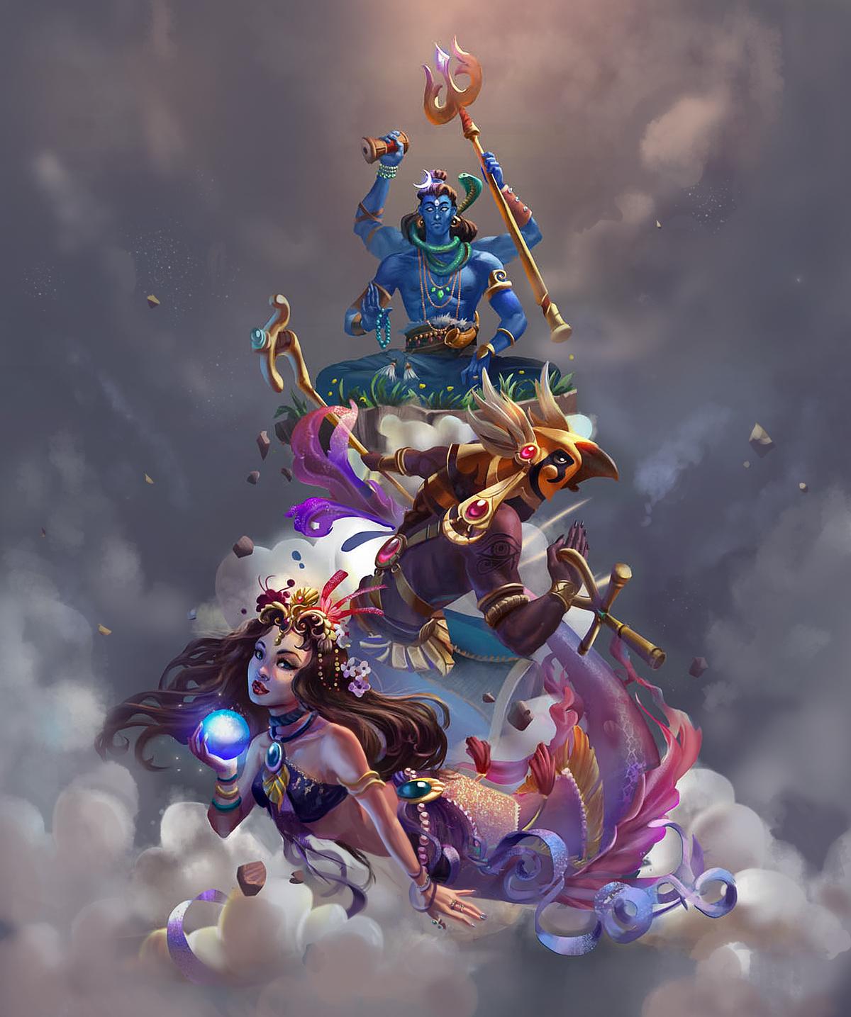 Myths and Legends - Promotion Art