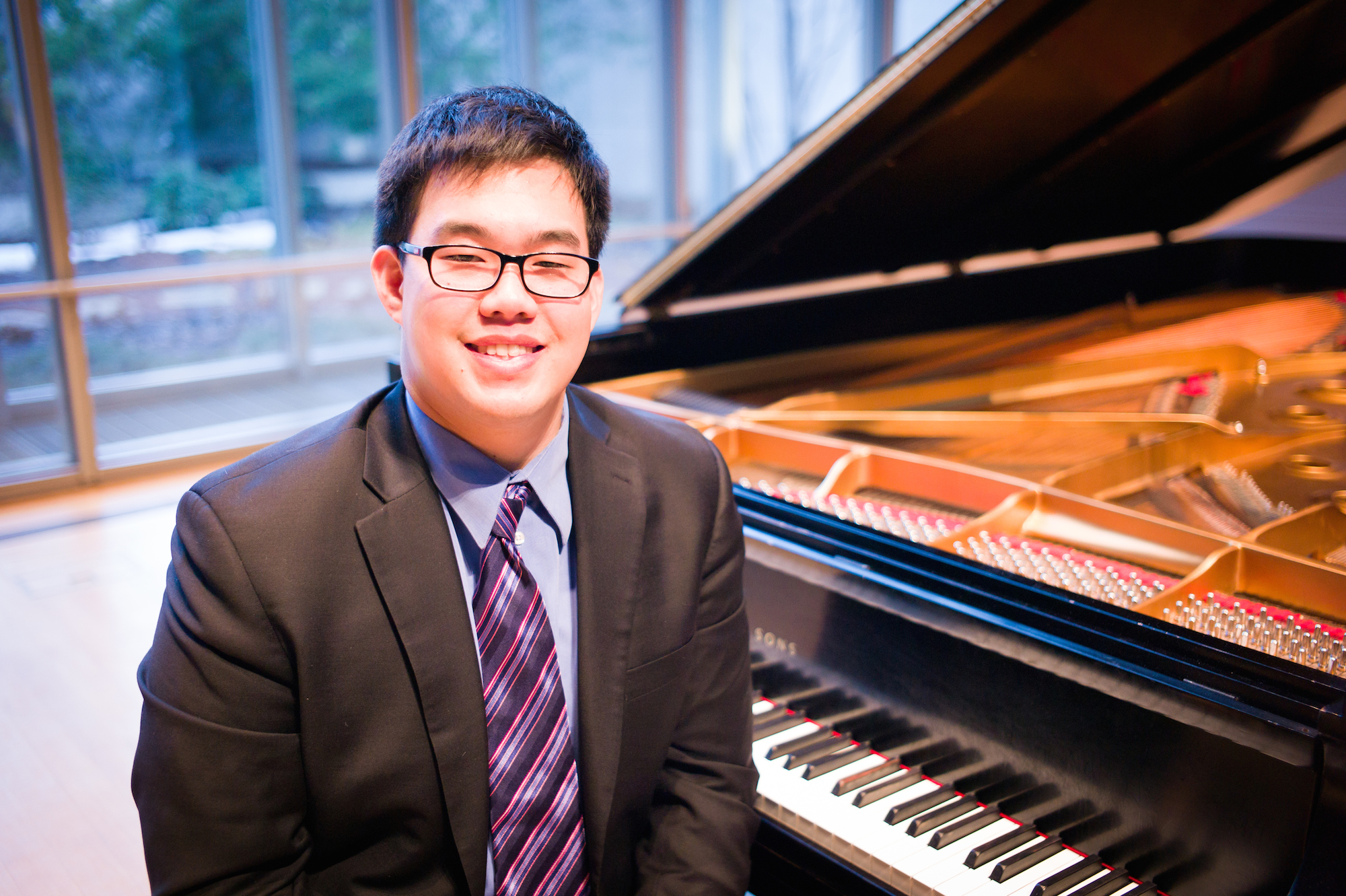 George Ko at Cleveland Institute of Music's Mixon Hall.
