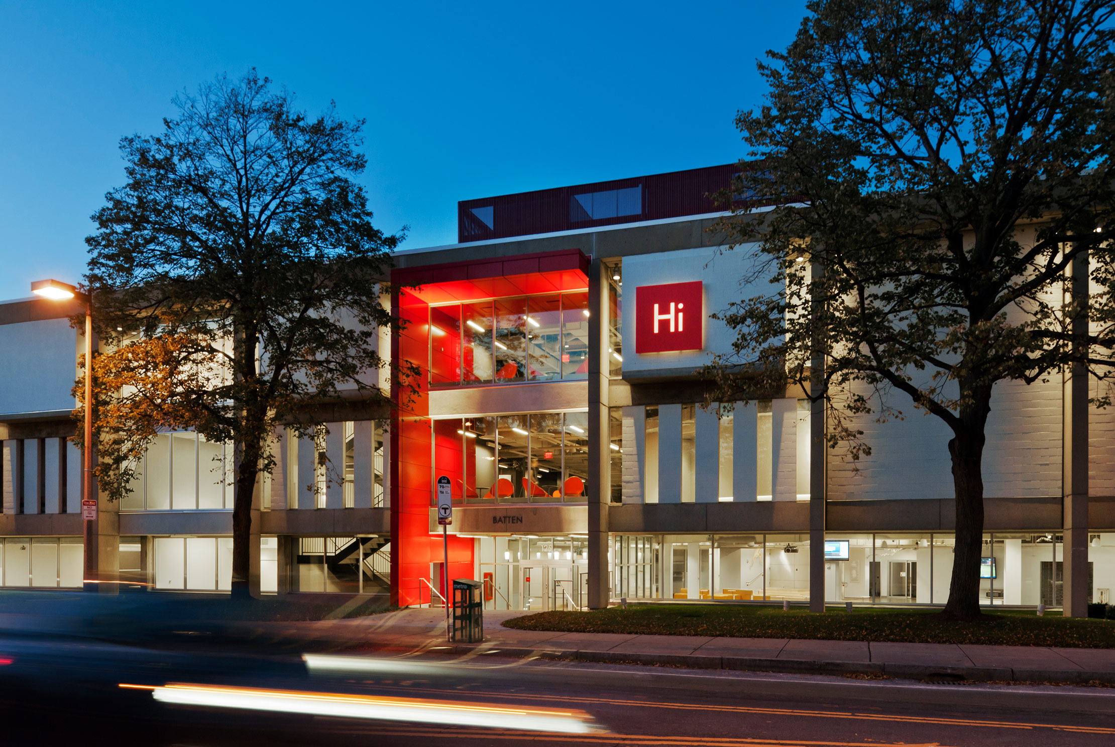 The Harvard Innovation Lab next to the Harvard Business School.