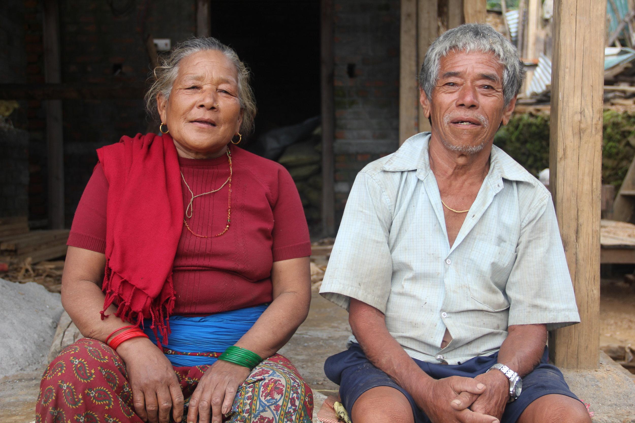 Bittikumari and Jeet Bahadur Gurung