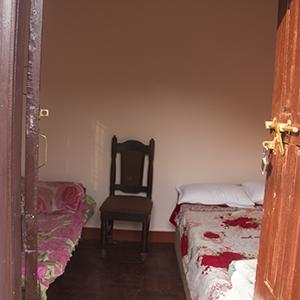 A guest room in Rainaskot