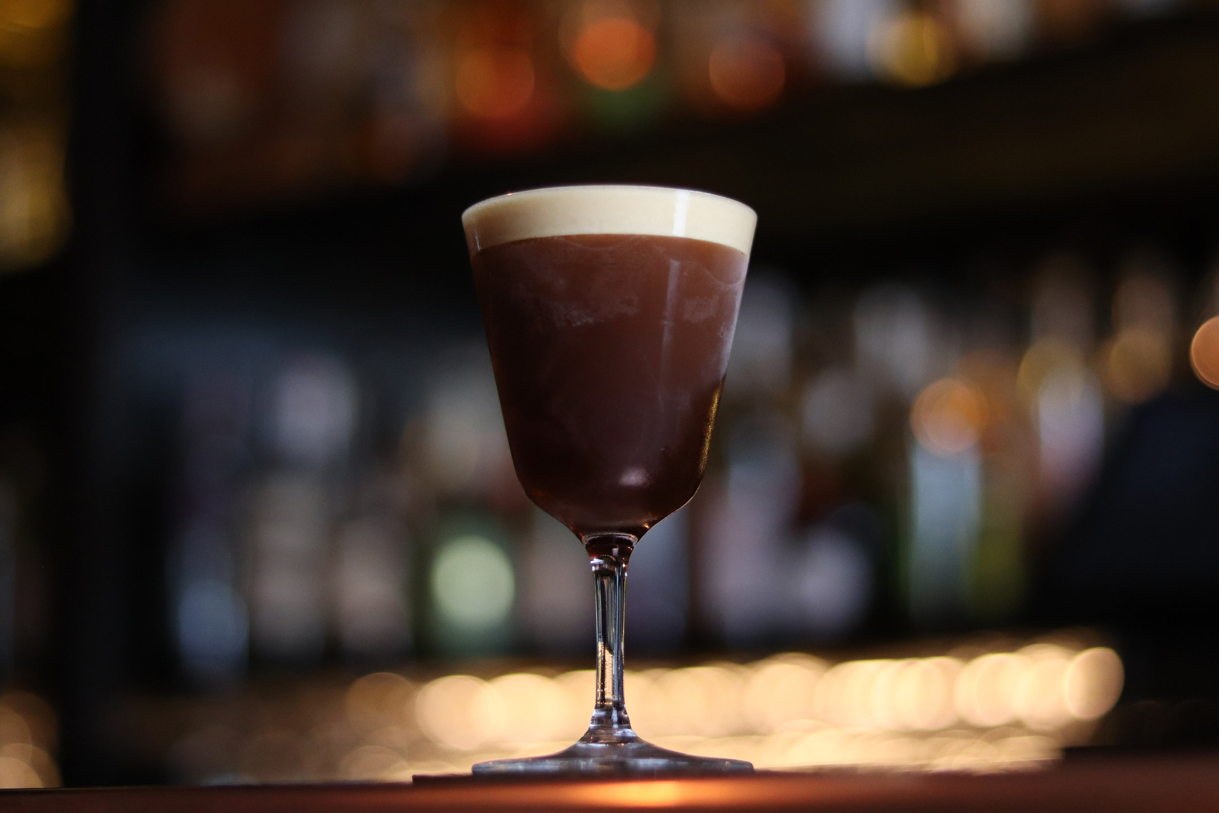 Espresso Martini created for  Bar Hercules Soho