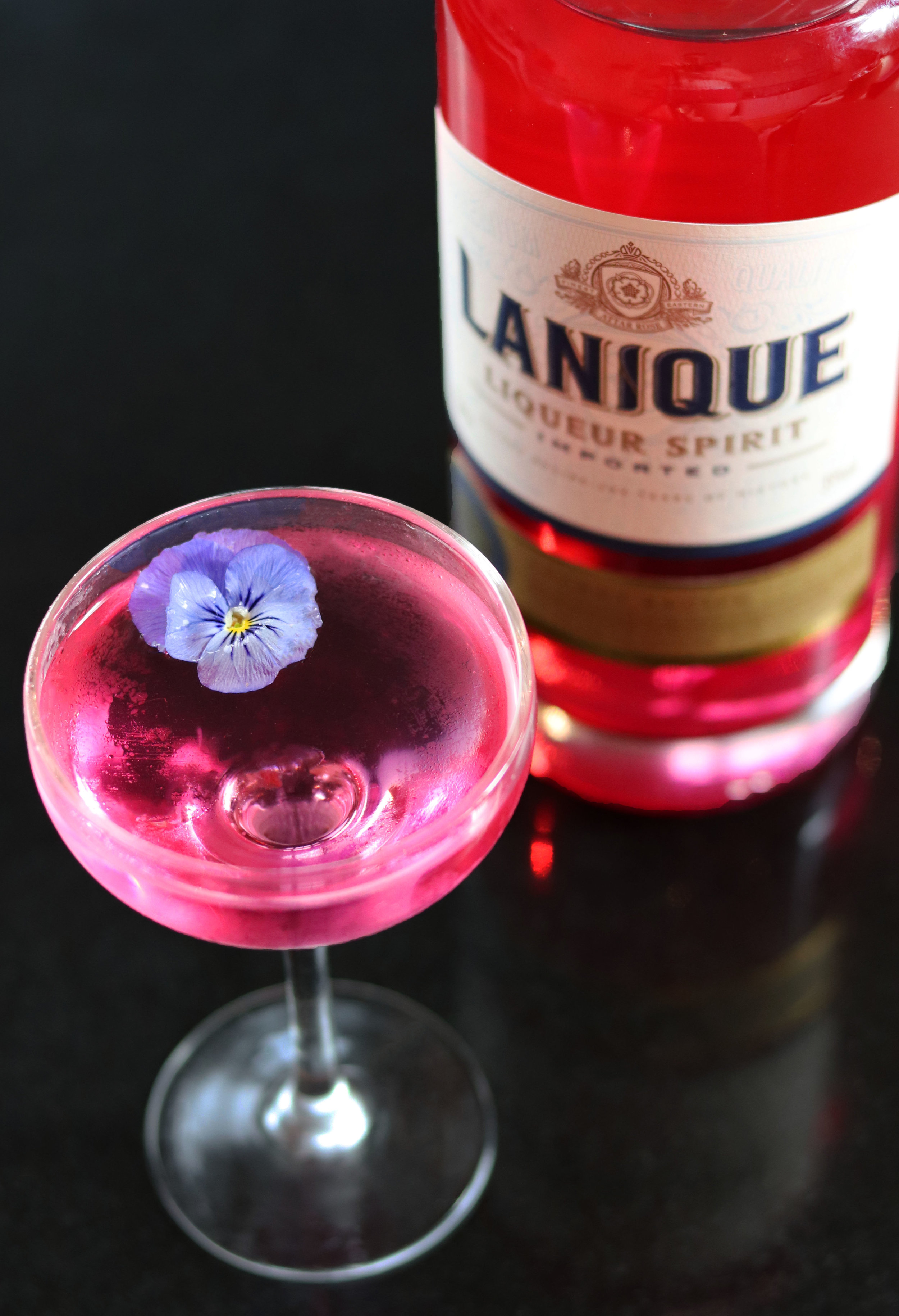 The God Mother- Created for  Lanique Rose Liqueur