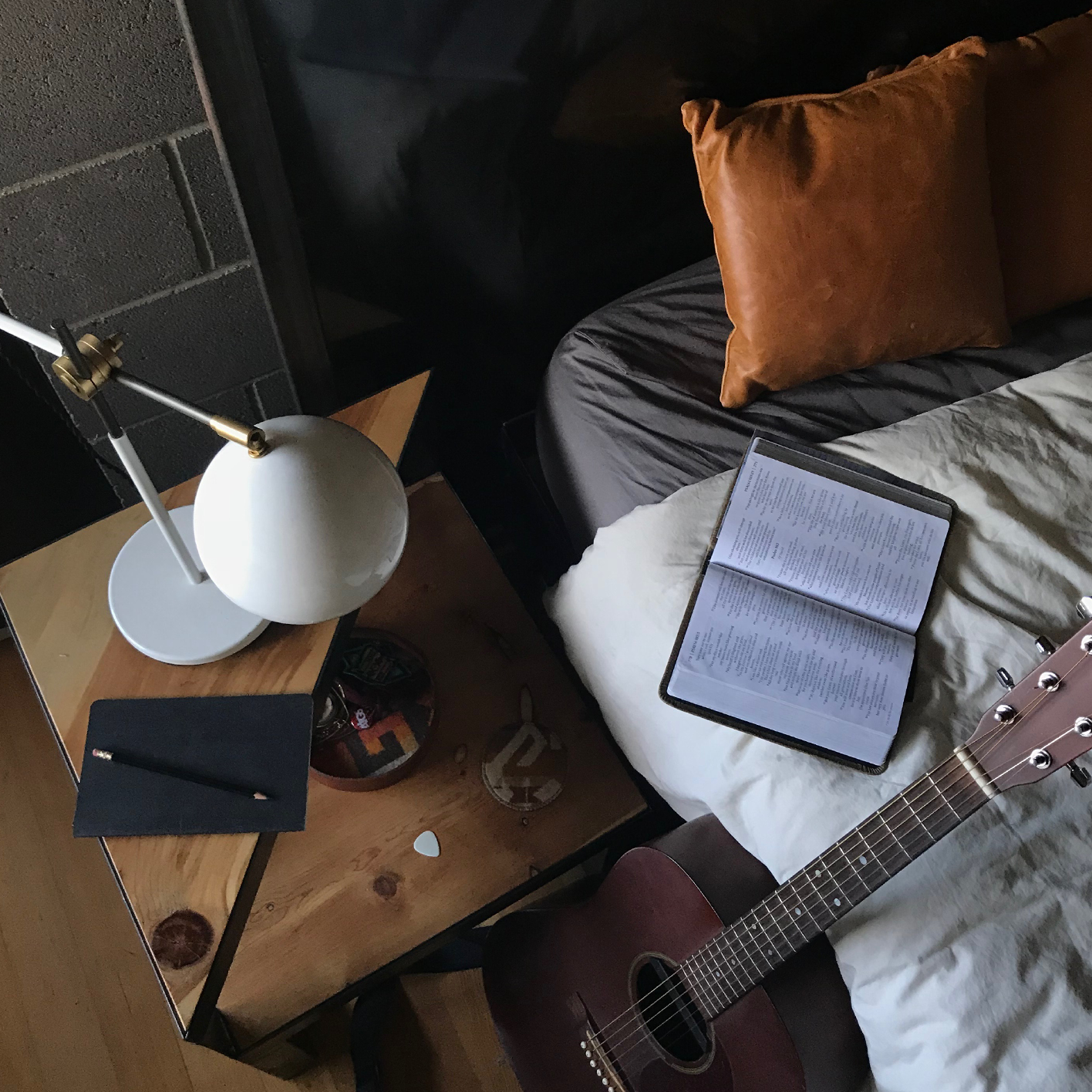 Tips - Here's some more details behind the songwriting process of Your Love.