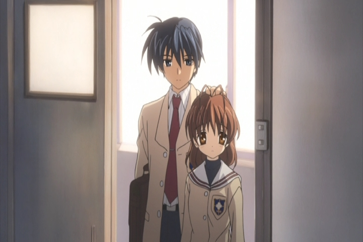 Helping others helps Tomoya eventually find himself. (Clannad)