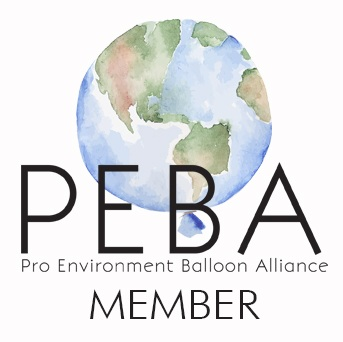 PEBA - Blast! Balloons and Parties are proud and active members of the Pro Environment Balloon Alliance (PEBA).Members of PEBA do not support, or condone, nor will they facilitate the deliberate release of balloons and will promote the correct disposal of balloons.We follow responsible practices and standards at all times.