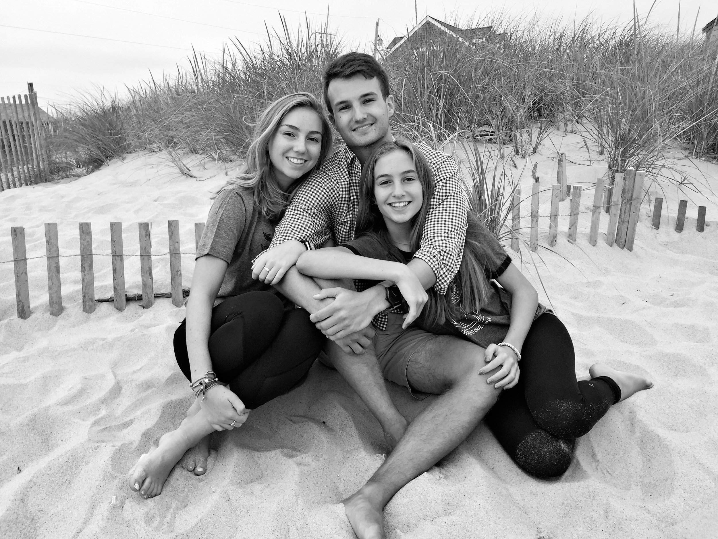 Liv-love, Jamie and India | Madaket, Nantucket 2016