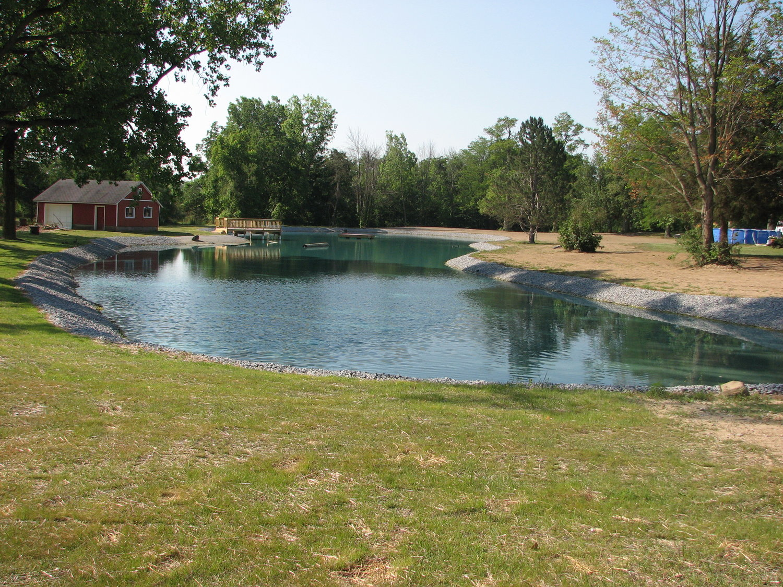 Pond Construction — Sand Ridge Excavating
