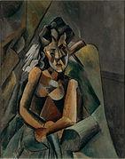"""Femme assise"", 1909"