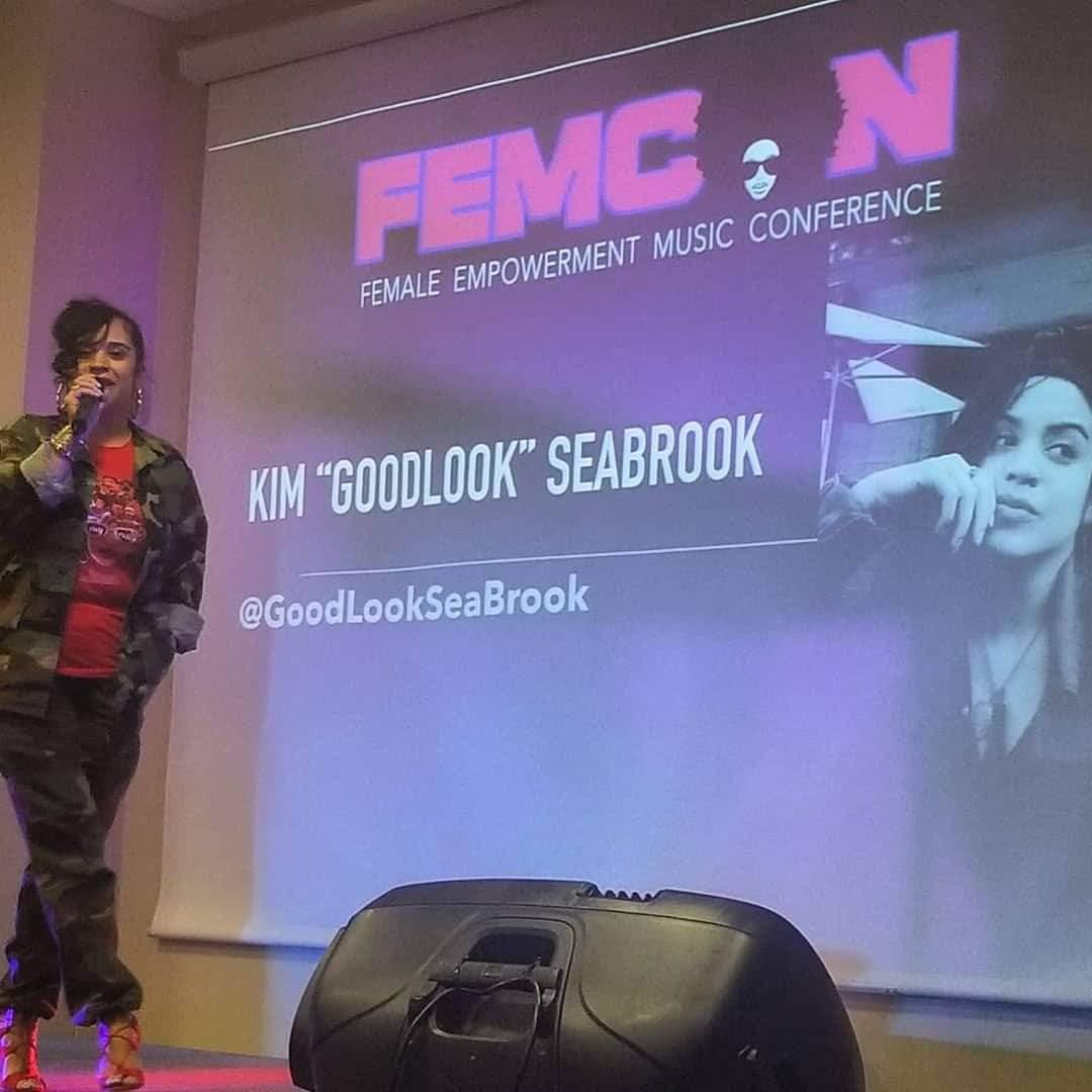 "NEW YORK, NEW YORK | FEMCON | KIM ""GOODLOOK"" SEABROOK"