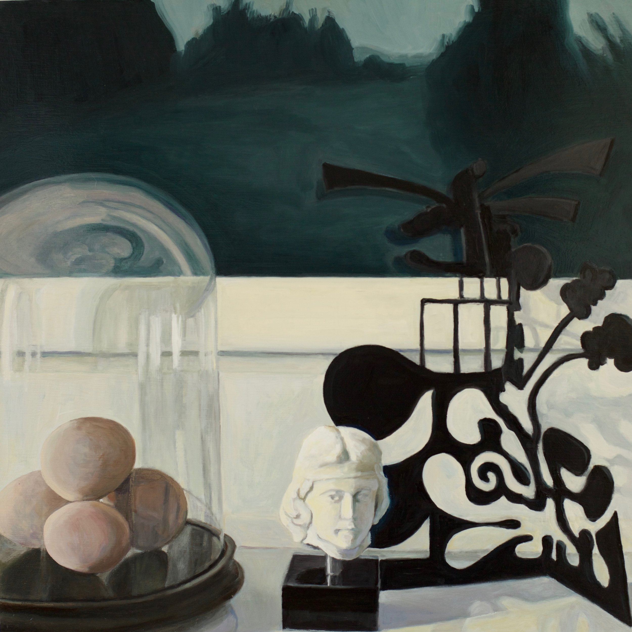 Still Life with Marble Head