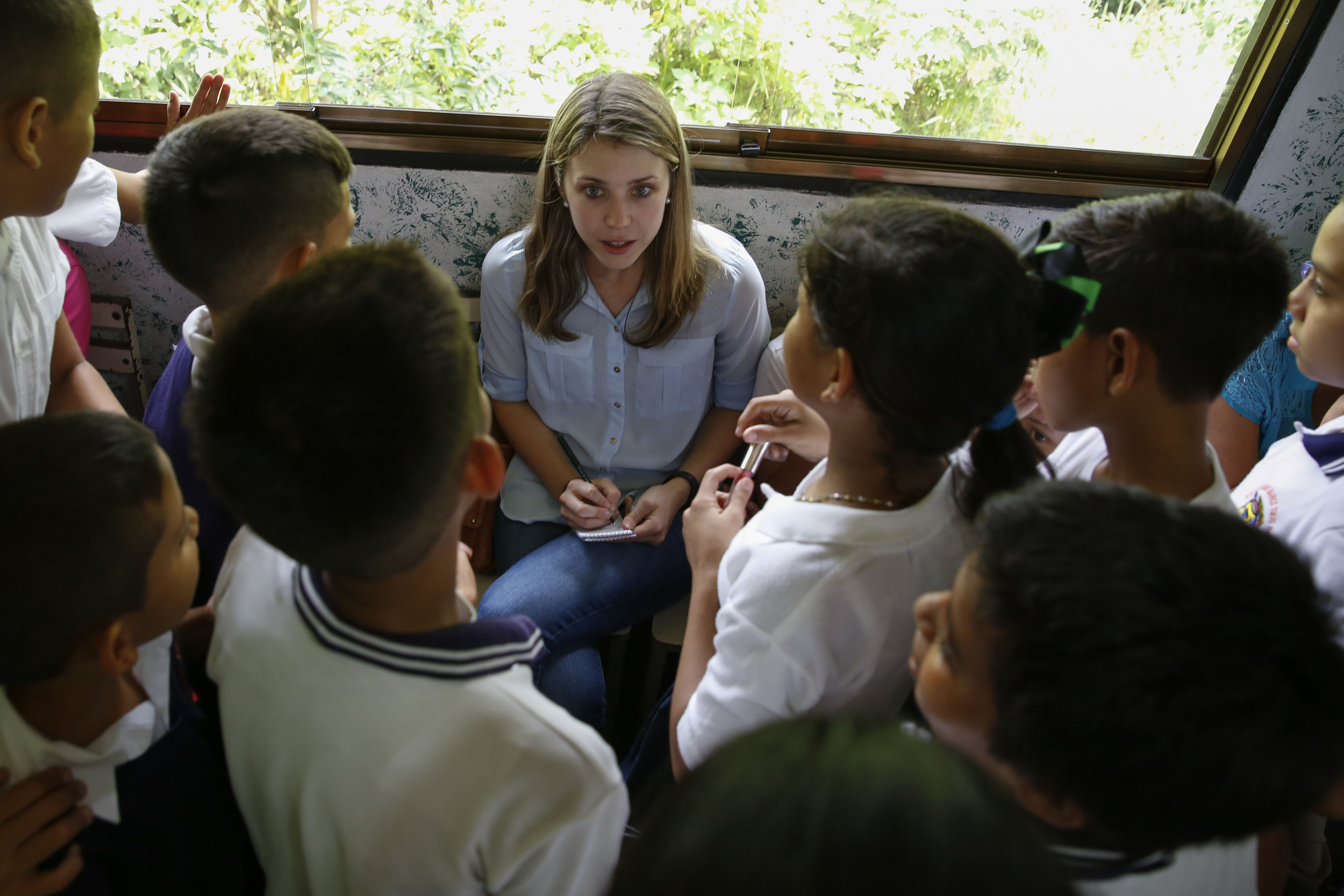 Reporting on Venezuela's crumbling education system in Táchira, June 2016. Photo by Carlos García Rawlins