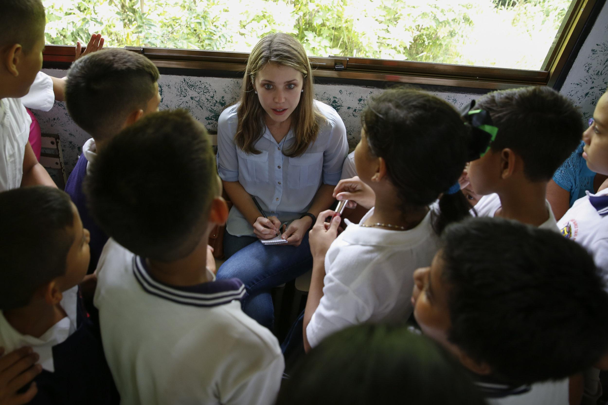 Reporting on Venezuela's crumbling education system in Táchira, June 2016. Photo by Carlos García Rawlins