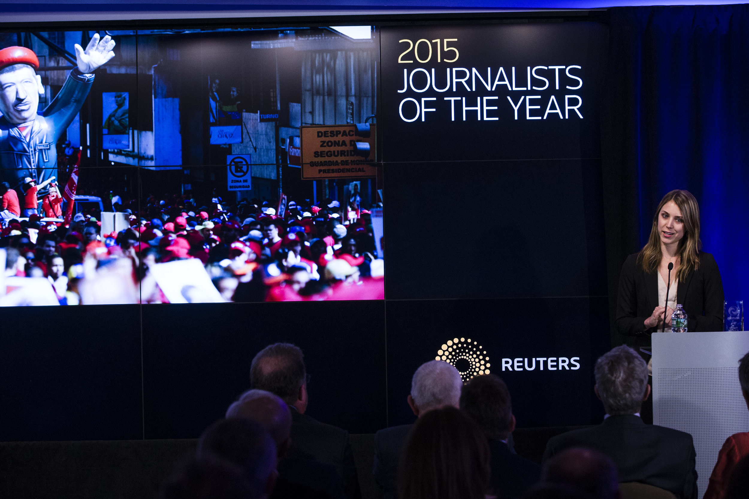 Reuters awards in New York, March 2016.