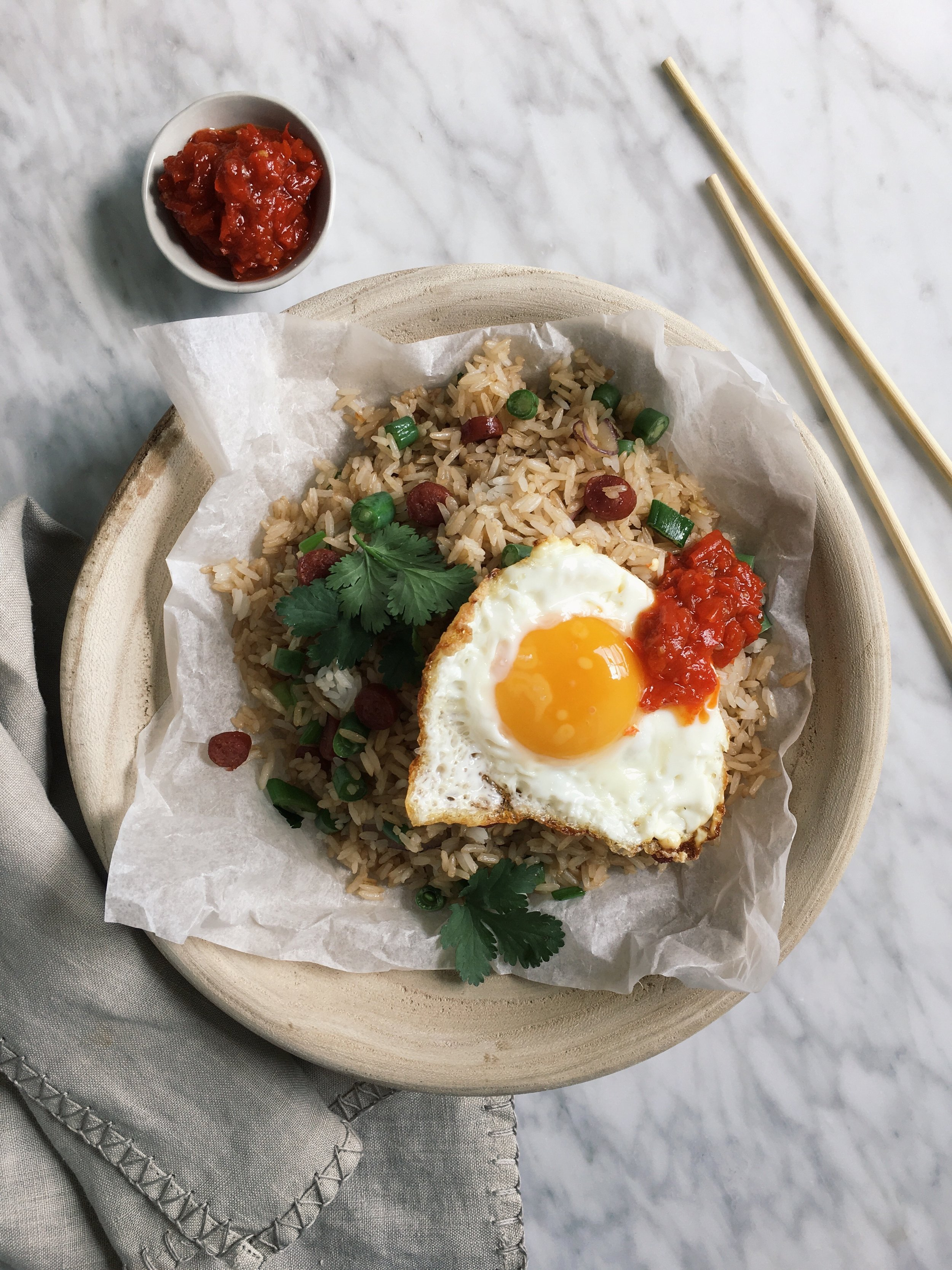 Recipe special fried rice