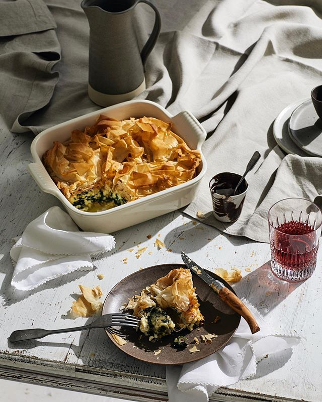 3️⃣ 🧀 🥧 (almost too cheesy, if that's even possible)  @reallivingmag  Photography @nicgossage  Prop styling @imogeneroache  CD @sansandao