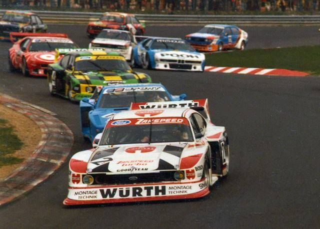 Group 5 sports cars circa 1982
