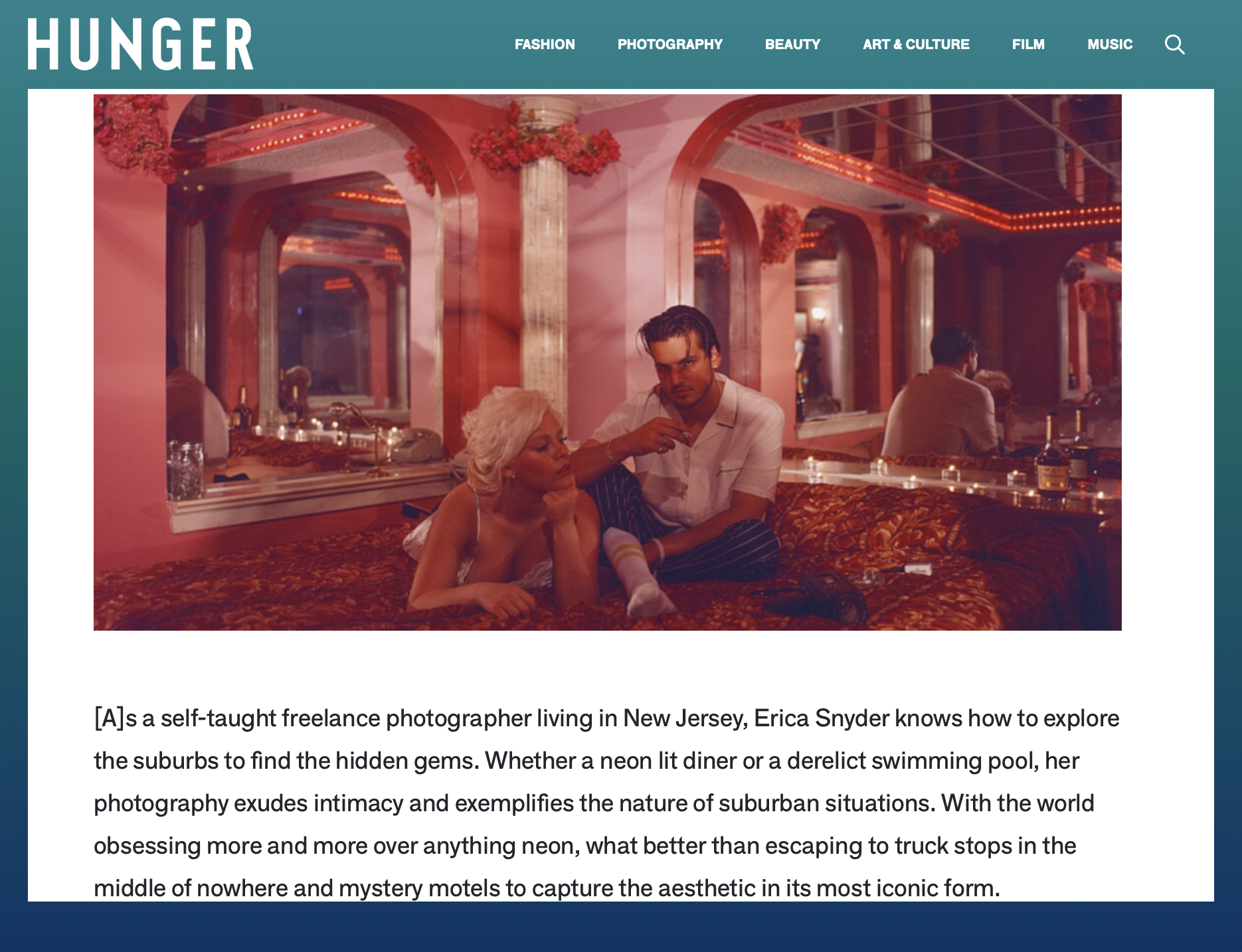 Hunger Magazine - 8/23/17