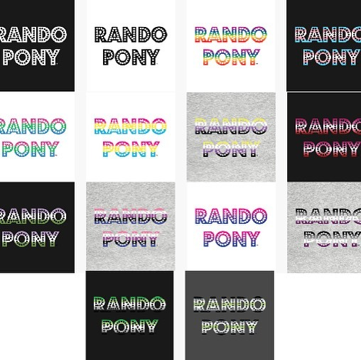 🚨 BIG ANNOUNCEMENT 🚨 WE ARE GOING TO BRONYCON!!!! And in honor of that we have added more #RandoPony shirt variants inspired by the #Pride flags. Ponies and Pride just go together. #linkintheprofile #bronycon #brony #pegasister #mlp #mlpfim #mylittlepony #pride #pridemonth #mlppodcast #podcast