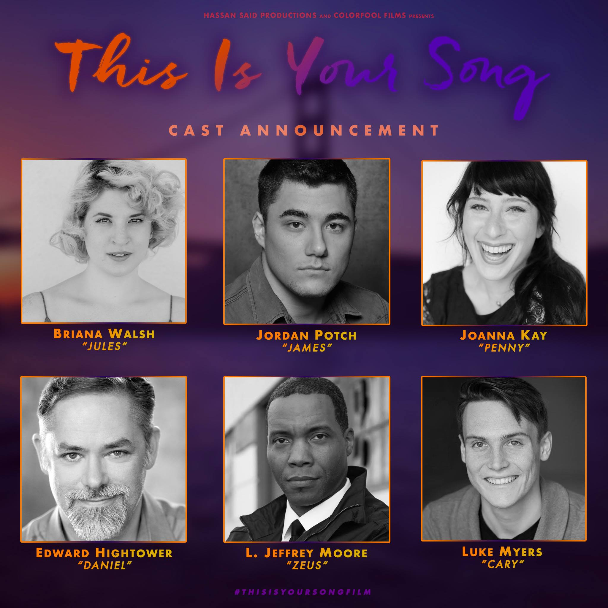 "The cast of "" This is your song"""
