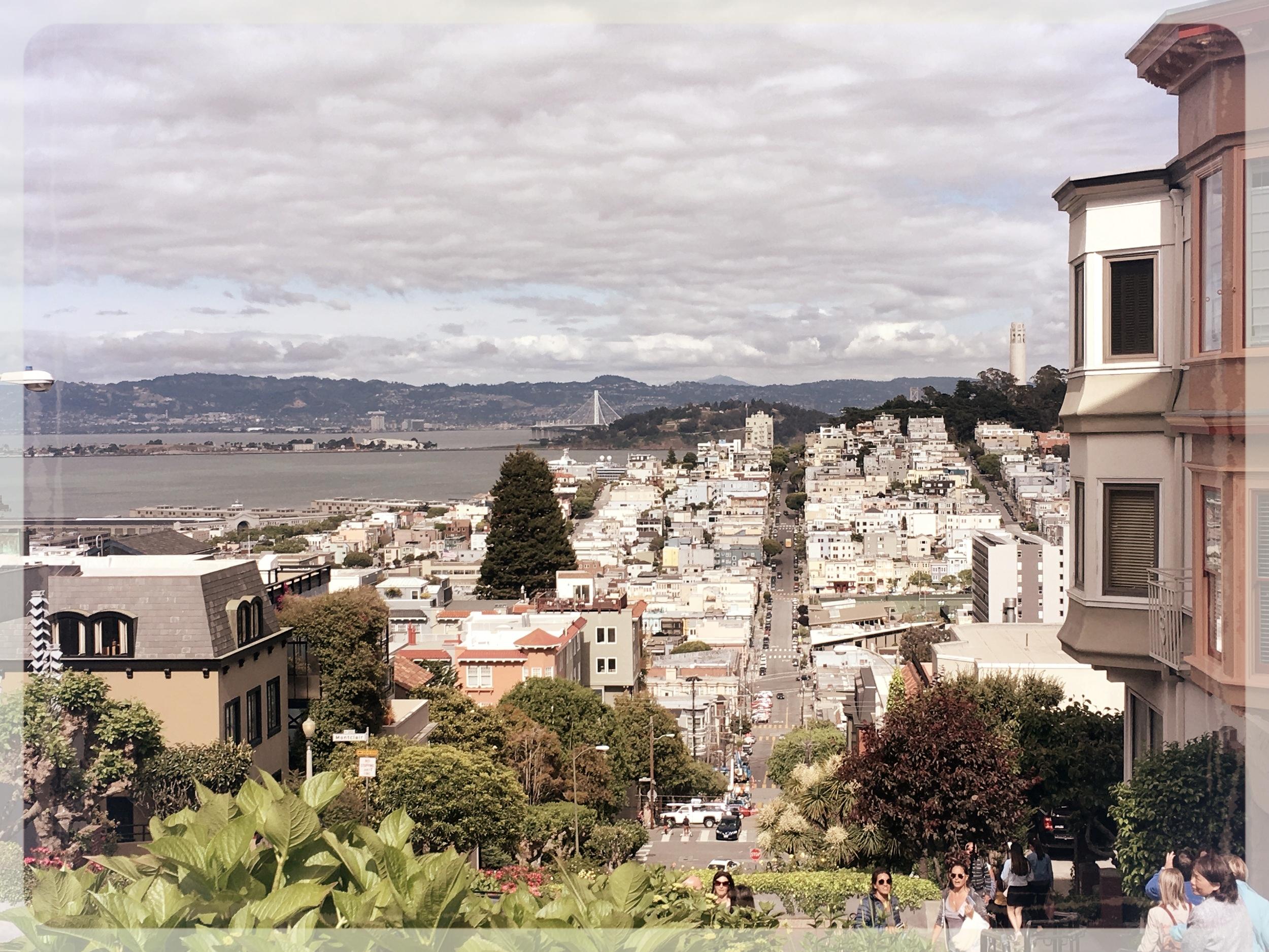 Vista desde Lombard Street