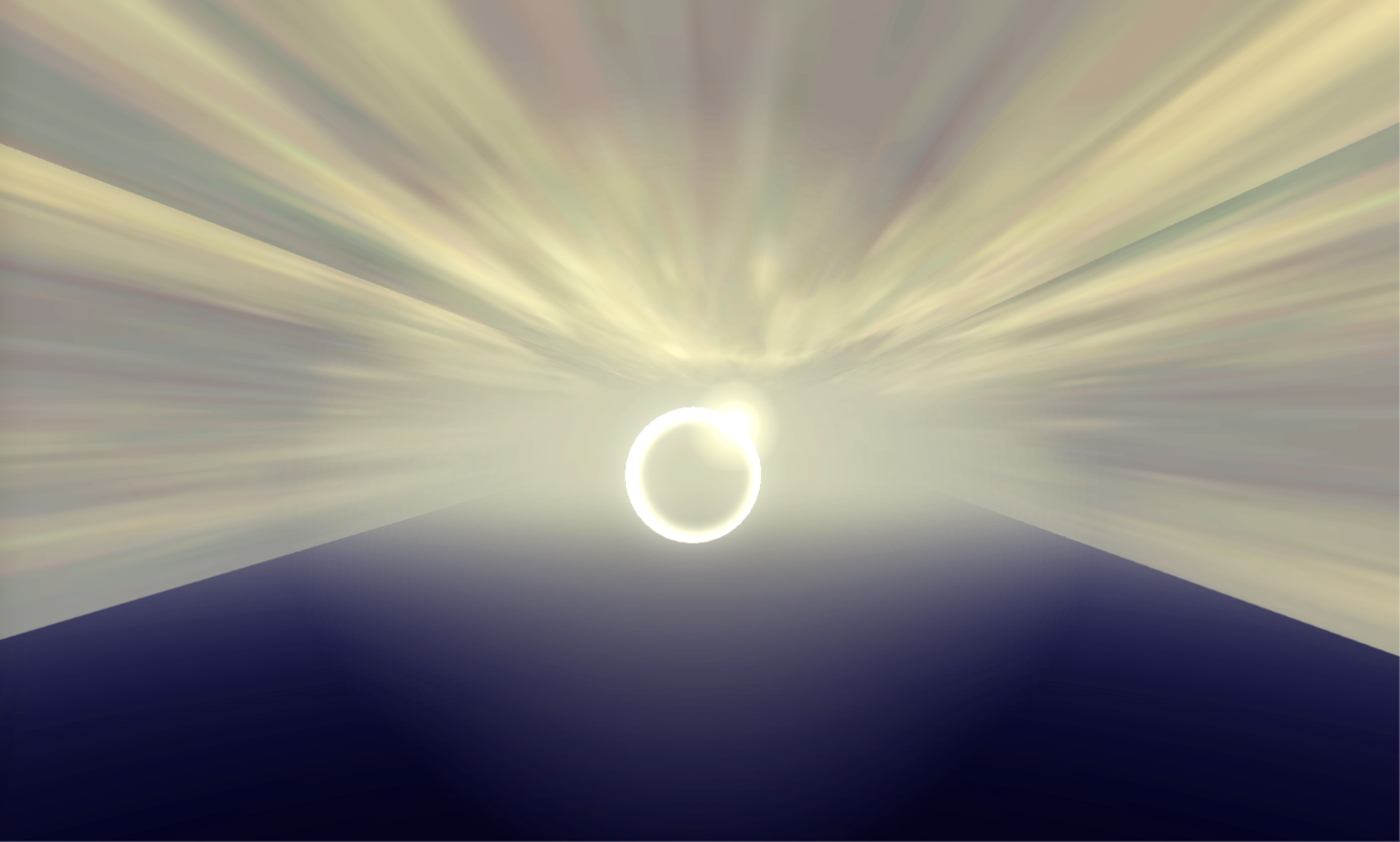 Passing through a halo triggers a personal object