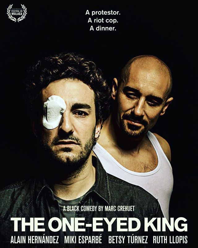 Best film in the International Forum section is THE ONE EYED KING by director Marc Crehuet #avvantura2017 #avvantura8 @marc_crehuet
